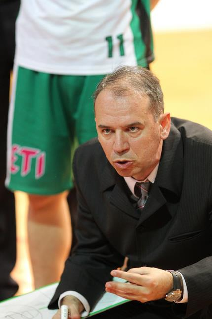 Croatian Coach at Europrobasket