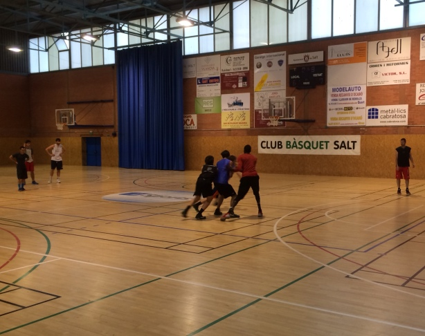 European Summer League Salt Practice EBA