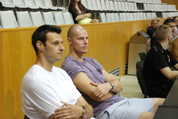 Maciej Lampe Brad Kanis Europrobasket FC Barcelona
