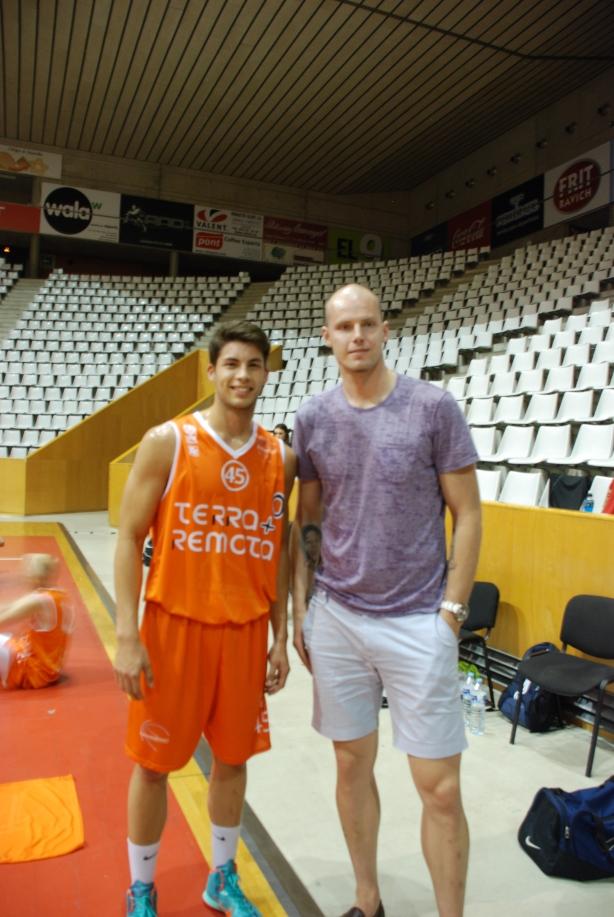 Maciej Lampe NBA Europrobasket