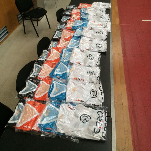 European Summer League Uniforms
