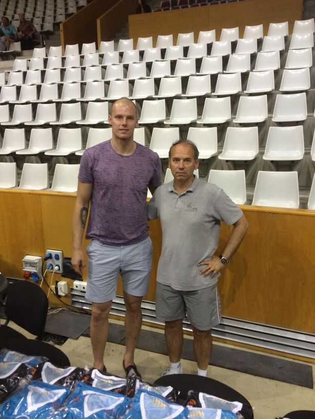 Maciej Lampe European Summer League Europrobasket