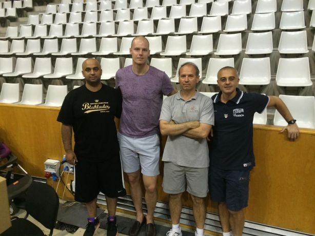 Maciej Lampe NBA Europrobasket Coaches