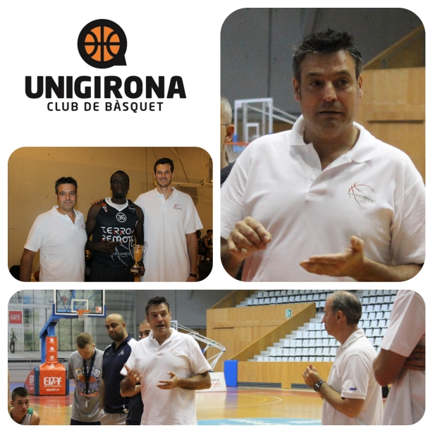 Unigirona Europrobasket coach professional basketball